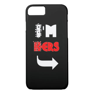Cute Couple 'I'M HERS' Phone Cases
