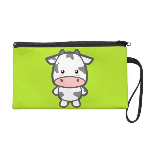 Cute Cow Wristlet Purse