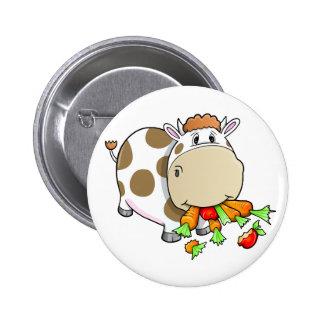 Cute Cow Button