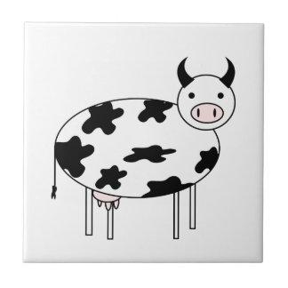 Cute Cow Ceramic Tile