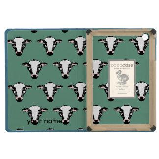 Cute Cow Face Pattern iPad Mini Retina Cover