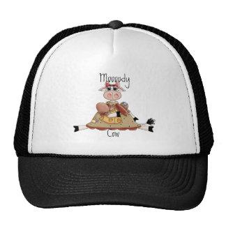 Cute Cow Mesh Hats