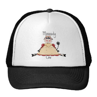 Cute Cow Mesh Hat