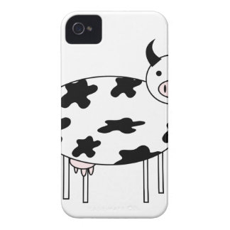 Cute Cow iPhone 4 Case-Mate Cases