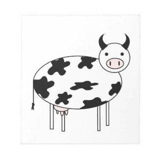 Cute Cow Notepad