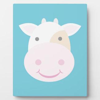 Cute Cow Plaque