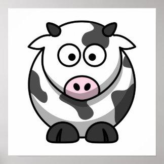 Cute Cow Print