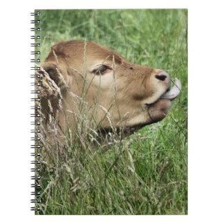 CUTE COW SPIRAL NOTEBOOK
