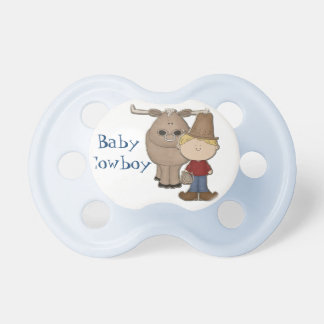 Cute Cowboy Custom Baby Pacifier