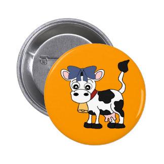 Cute Cows 6 Cm Round Badge
