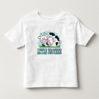 Cute Cows Little Brother Toddler T-Shirt