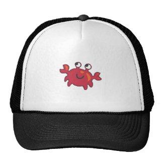 CUTE CRAB TRUCKER HATS