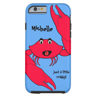 Cute Crab Crabby Personalized iPhone 6 case