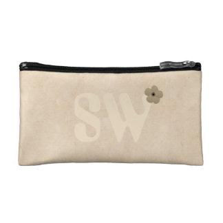 Cute Cream Beige Add Initials Bag