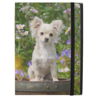 "Cute cream colored Chihuahua Dog Puppy Pet Photo iPad Pro 12.9"" Case"