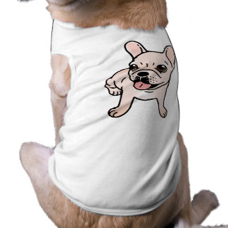 Cute cream Frenchie is ready to play Shirt
