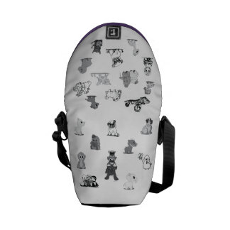 Cute Creatures Purse Courier Bags