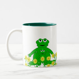 Cute Critters Collection  Froggy Mug