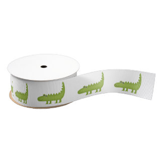 ❤ Cute Crocodile Ribbon Grosgrain Ribbon
