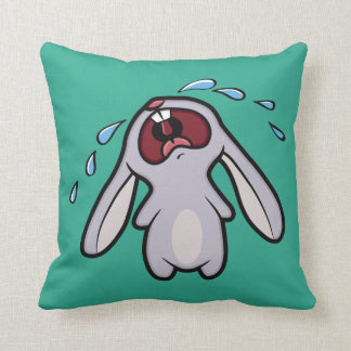 Cute Crying Bunny Reversible Cushion