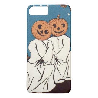 Cute Cuddle Pumpkin Jack O' Lantern Ghost iPhone 7 Plus Case