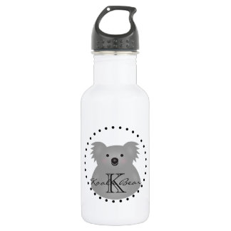 Cute Cuddly Australia Baby Koala Bear Monogram 532 Ml Water Bottle