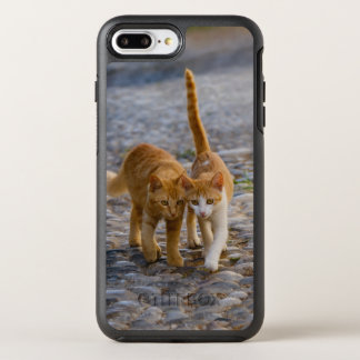Cute Cuddly Cats Kittens Friends Stony Path - Pet OtterBox Symmetry iPhone 8 Plus/7 Plus Case