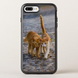 Cute Cuddly Cats Kittens Friends Stony Path - Pet OtterBox Symmetry iPhone 8 Plus/7 Plus Case
