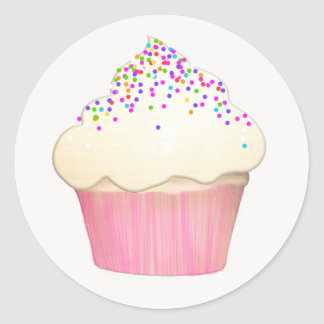 Cute Cupcake Bakery Sticker Pastry Chef