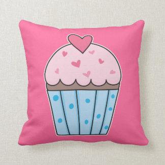 Cute Cupcake (blue/pink) Cushion