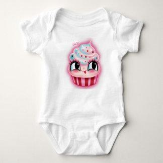Cute Cupcake by Fluff Baby Bodysuit