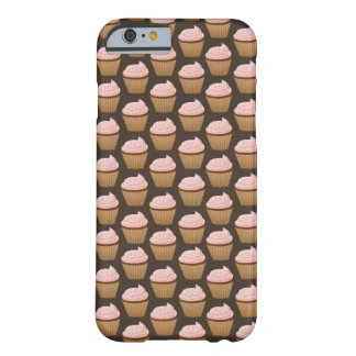 Cute Cupcake Pattern iPhone 6 case Barely There iPhone 6 Case