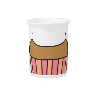 CUTE CUPCAKE PITCHER