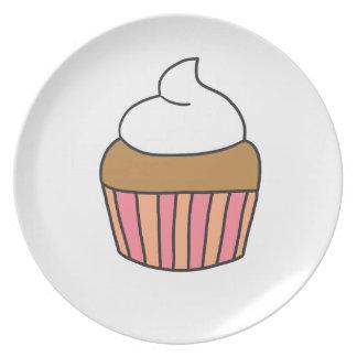 CUTE CUPCAKE PLATE