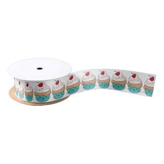 Cute Cupcake Ribbon Satin Ribbon