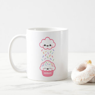Cute Cupcake with Sprinkles Coffee Mug