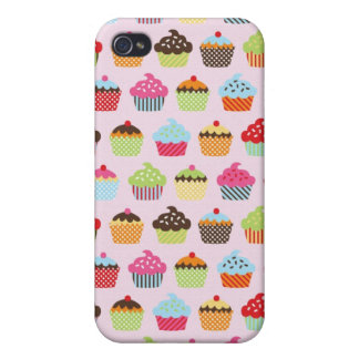 Cute Cupcakes Case For The iPhone 4