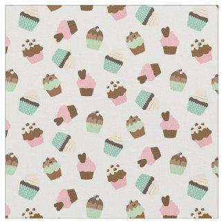Cute Cupcakes Fabric, Nursery, Kid Room, Baby Girl
