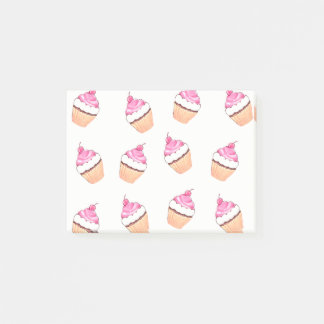 Cute Cupcakes Little Colorful Cakes Post-It Notes