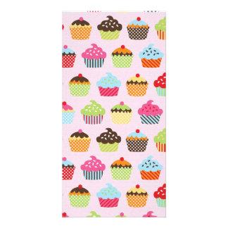 Cute Cupcakes Photo Card Template