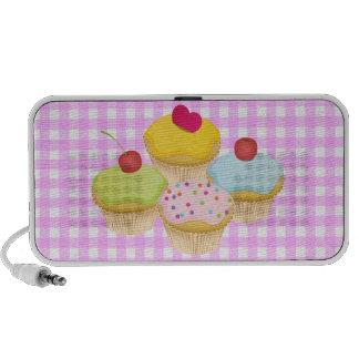 Cute Cupcakes Laptop Speakers