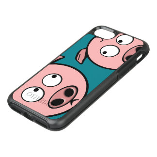 Cute Curious Pigs OtterBox Symmetry iPhone 7 Case