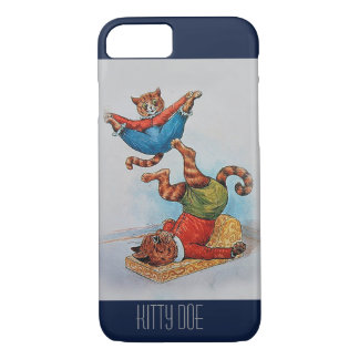 Cute Customisable iPhone7 Case - Louis Wain's Cats