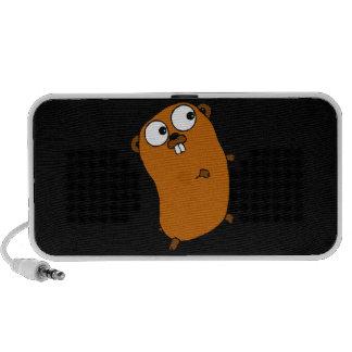 cute customizable gopher iPhone speaker