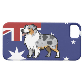 Cute Customizable Pet on Country Flag Case For The iPhone 5