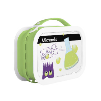 Cute Customizable Science Project Lunch Box