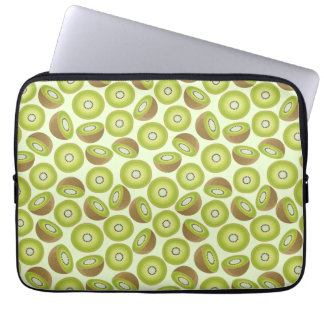 Cute Cut Kiwi Pattern Laptop Sleeve