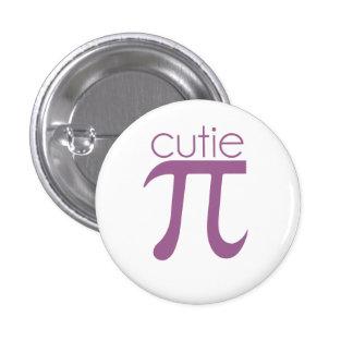 Cute Cutie Pie Pi 3 Cm Round Badge