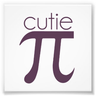 Cute Cutie Pie Pi Photo
