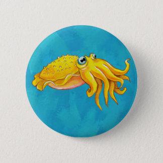 Cute Cuttlefish Button